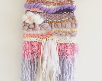 Shades of Pink Weave - Woven Wall Hanging