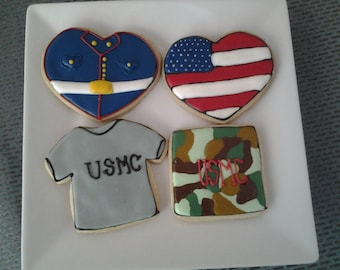 Appreciation Cookies to honor our Marines