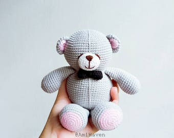 Bear For Friends Forever Amigurumi Handmade Doll Plush Bear