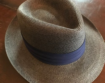 Vintage Self-Conforming Resistol Fedora/ Designed By Harry Rolnick
