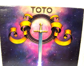 Toto Self-Titled Album Vinyl LP Record 1978 Columbia Records