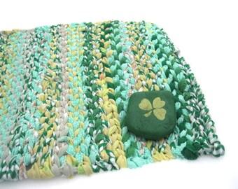 GENESEE  rag weaving TaBLE RUG  Placemat
