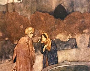 Edmund Dulac: Stories from the Arabian Nights 1907