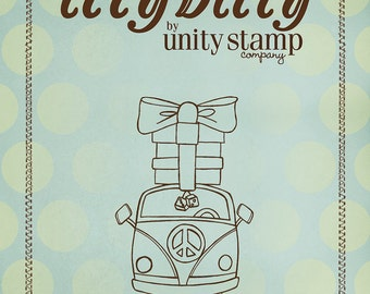 Clearance - Unity - Ippity Stamps - Something Groovy
