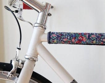 Custom Liberty Tana Lawn Bicycle Top Tube Cover