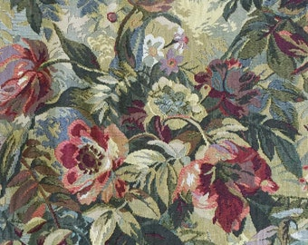 Rose Garden - Medium/ Heavy Weight Fabric - Upholstery Fabric by the Yard