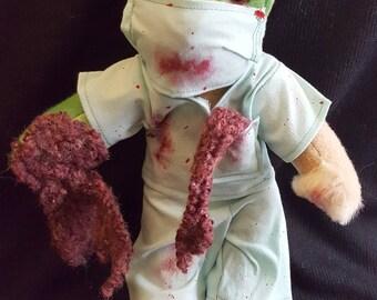 Zombie Doctor Bear