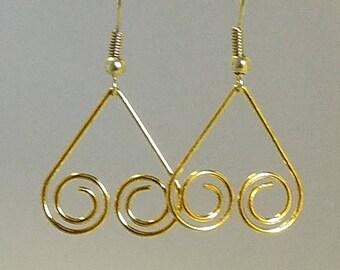 Beautiful Golden Earrings