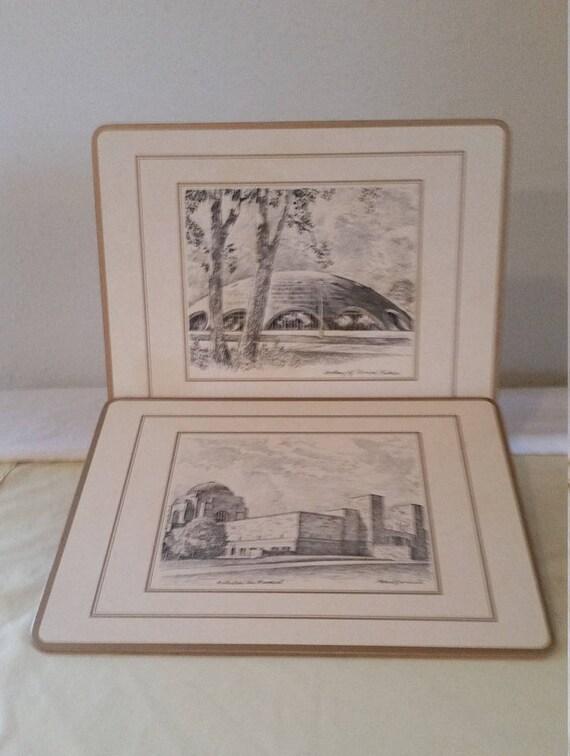 Pimpernel sets de table de sets de table/vintage/sets de table