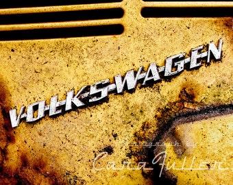 Volkswagen Bug Emblem Photograph