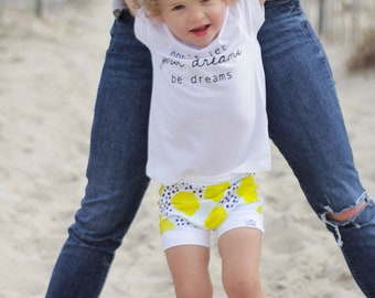 Lemon, Baby Bummies, Shorties | Baby Clothes | Bloomers | Baby Girl | Shorts | Baby Boy | Toddler Shorts | Tropical | Bummies | Lemon Shorts