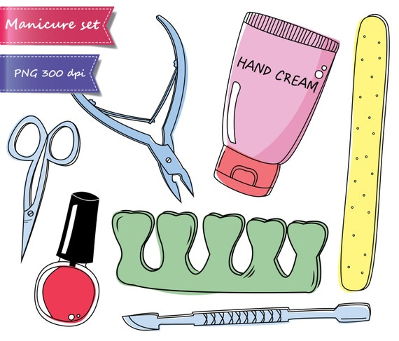 50 off sale manicure clipart pedicure clipart beauty clipart spa rh etsystudio com pedicure cartoon clipart manicure pedicure clipart