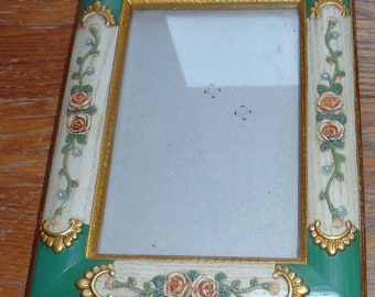 Sale:Vintage Rococco look frame for 5 by 7 inch art