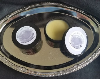 Nose 2 Tail Skin Salve with Frankincense, Lavender and Peppermint Therapeutic Grade Essential Oils