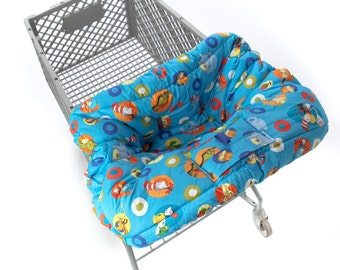 Custom Boutique (Dr. Seuss) Shopping Cart Cover for a boy or girl
