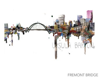 "UB Bridge Prints || 13"" x 19"""