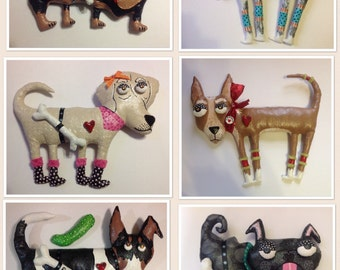 Custom Doggie Soft Sculpture