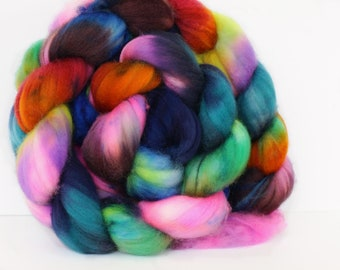 Blue Lake 4 oz Merino softest 19.5 micron Roving Top for spinning