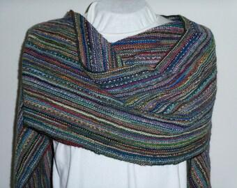 Super Scarf, Blanket Scarf, Winter Shawl Scarf, Hand Knit, Warm Winter Wrap, Fashion Accessory, Gender Neutral, Neck Scarf, Ready to Ship