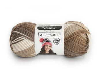 Loops and Threads Impeccable Ombre Yarn - Toasted Almond