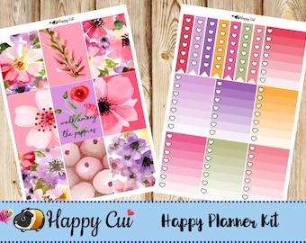 Hello Poppy! // Happy Planner Sticker Kit