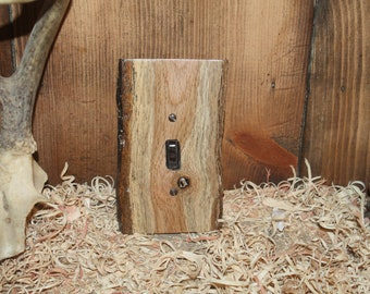 rustic switch plate cover