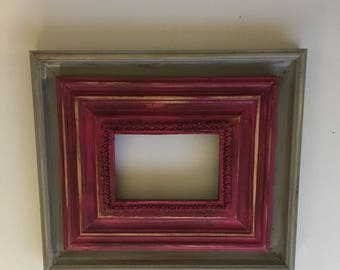 Custom Distressed Picture Frames