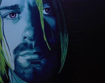 Kurt Cobain Limited Edition Canvas Print