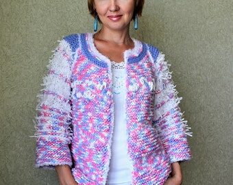 "Knitted jacket ""Suger"""
