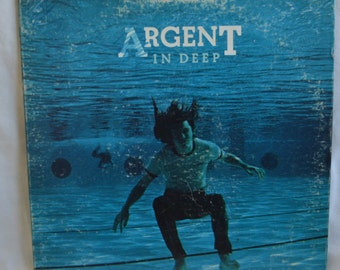 Vintage  Gatefold Record Argent: In Deep Album BL-32195