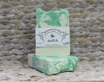 Mint and Eucalyptus Soap - Peppermint and Eucalyptus - Mint to Be