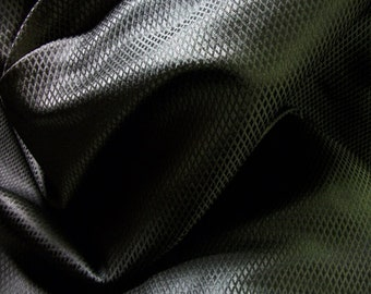 Black Diamond Silk Brocade - Corset Making