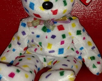 """RARE """"TY 2K"""" Beanie Baby with tag errors"""