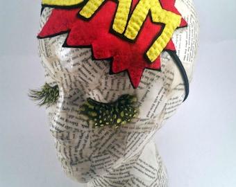 Handmade Comic Book Headband