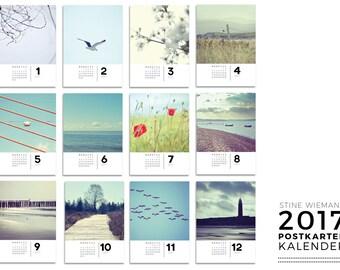 Fine Art Photography Postcard Calendar 2017