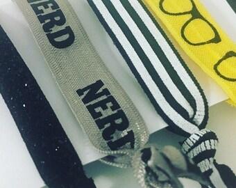 Nerd - Crease Free Hair Ties