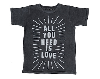 All You Need is Love Round Neck T'shirt