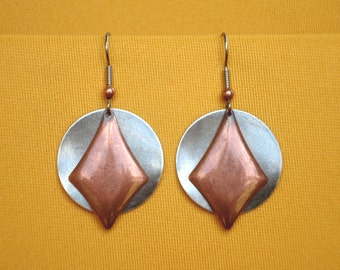 I'll have silver and copper earrings for nine fifty please alex (Style #240)