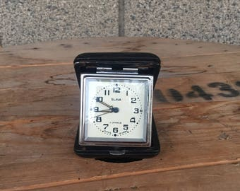 Vintage Clock, Desktop Clock, Soviet Clock, Vintage Alarm Clock, USSR Clock, Mechanical Clock, Retro Alarm Clock, Watches Slava