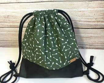 Canvas and cotton fabric bags