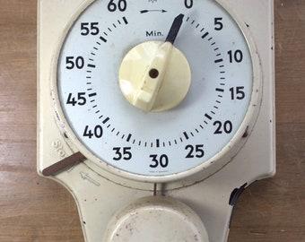 Photo lab clock mechanical antique vintage photos develop metal like stopwatch