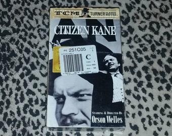 Citizen Kane [VHS] NEW* Sealed Still Orson Welles Joseph Cotten Agnes Moorehead Classic American Cinema Great Films Mid Century VHS B/W Vhs