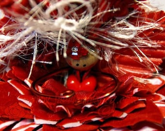 Holiday Edition 2014 - Candy Cane, Christmas, Fairy, Faerie, OOAK