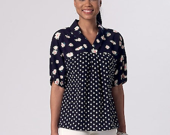 McCall's Sewing Pattern M7359 Misses' V-Neck Dolman Sleeve Tops