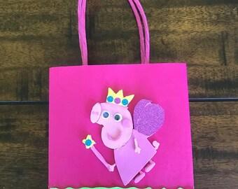 Peppa pig birthday bag