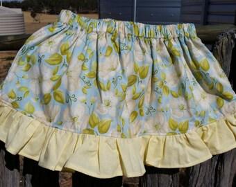 Girls Flower Skirt with Ruffles