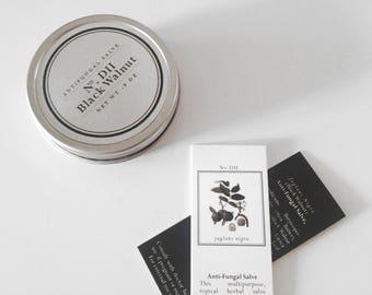Antifungal Salve - Anti-Fungal - All Natural - Essential Oil - Herbal Salve - Healing Balm - Tea Tree - Foot Fungus - Ringworm - Anti Fungal