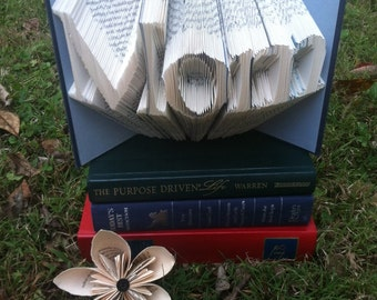 Mom Folded Book Art - Book Origami - Mother's Day Gift