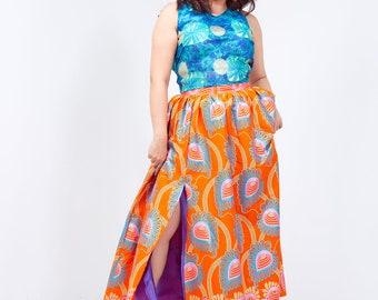 Sophie Side Slit Maxi Skirt