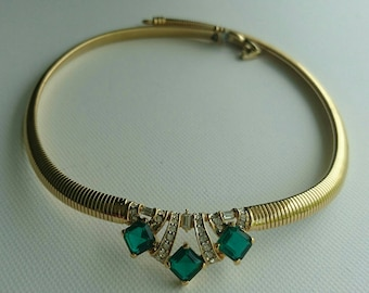 Vintage Nina Ricci necklace / gift for her